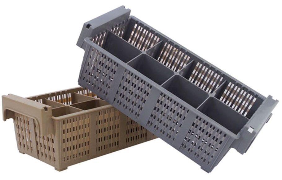 Cesto Lavagem de Talheres - Para ser utilizado em combinação com o rack para copos.